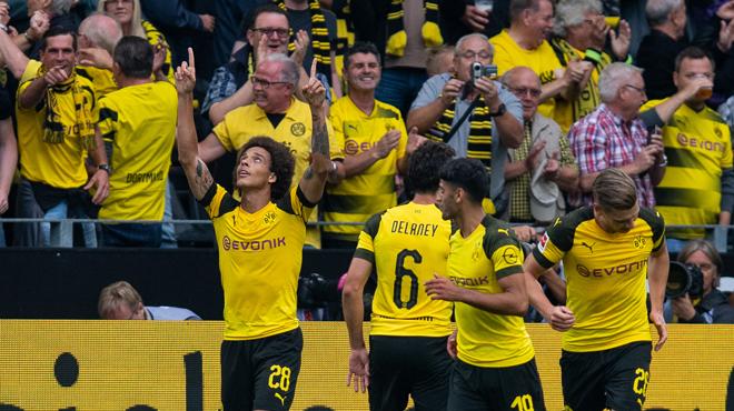 Bundesliga - Dortmund balaye Leipzig (4-1) et prend la tête du classement