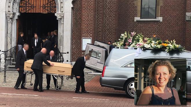 La soeur de Valérie, mortellement poignardée à Plombières, prend la parole durant les funérailles: