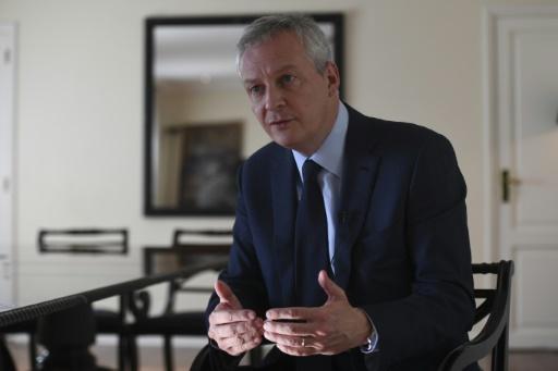 Le déficit public va approcher les 2,6% du PIB en 2018, selon Bruno Le Maire