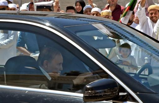 Le président algérien en Suisse pour des
