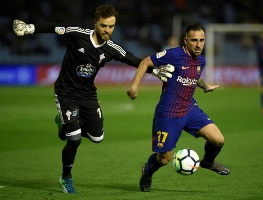 Espagne: le Barcelonais Alcacer proche d'un prêt à Dortmund