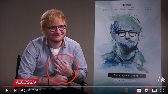 Ed Sheeran : Le chanteur s'est marié en secret !