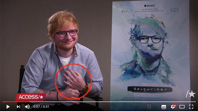 Alerte, Ed Sheeran se serait marié en secret !
