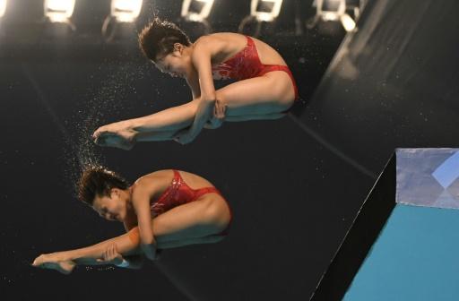 Jeux Asiatiques: deux plongeuses chinoises en or... à 14 ans