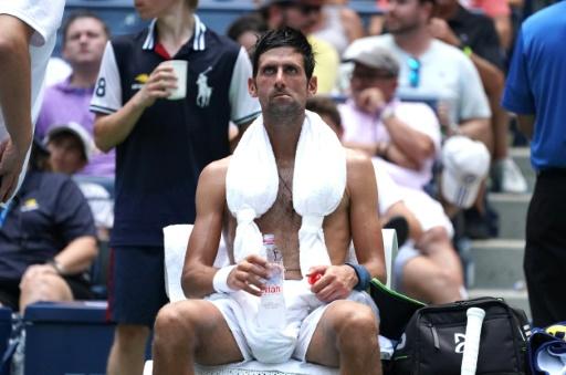 Coups de chaleur à l'US Open: pas des insolations, mais dangereux quand même