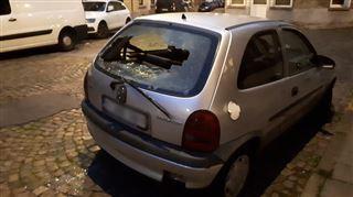 Plusieurs véhicules vandalisés à Binche - C'est la troisième fois que ça m'arrive