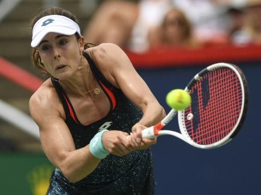 L'US Open fait amende honorable: Cornet n'a pas manqué de tenue