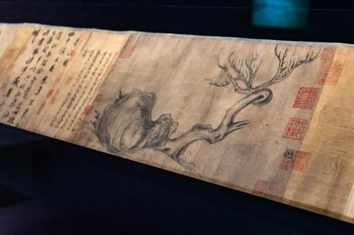 Une calligraphie millénaire chinoise mise aux enchères