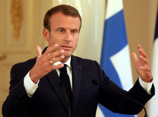 Macron prône la