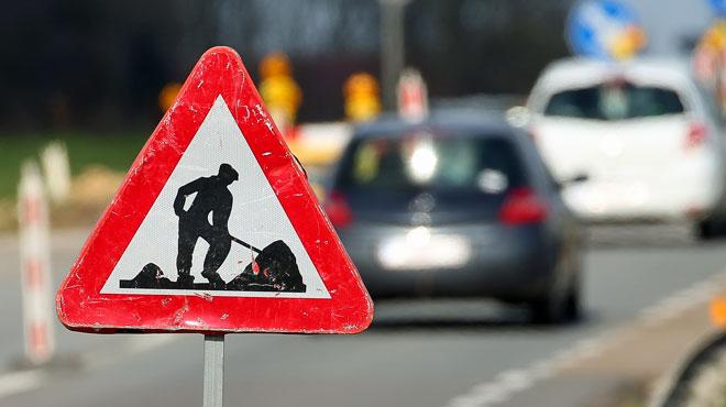 Les travaux qui provoquent de gros embouteillages sur la E40 à Heverlee sont bientôt finis
