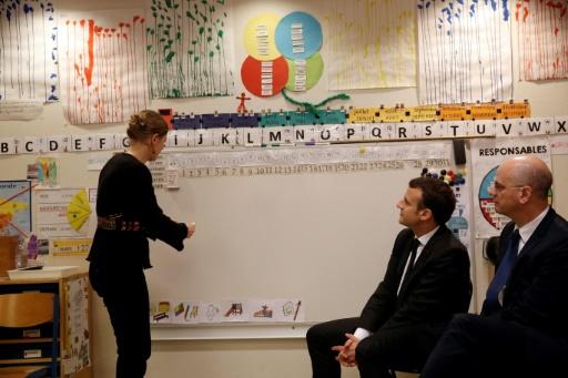 Macron lundi dans un collège en Mayenne pour la rentrée scolaire