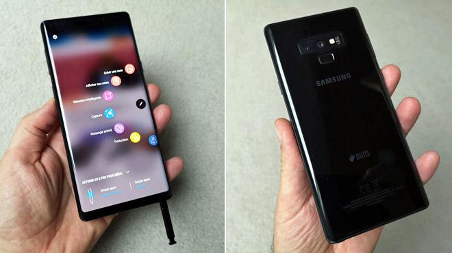 Test: le Galaxy Note 9 de Samsung, meilleur smartphone de l'année ?