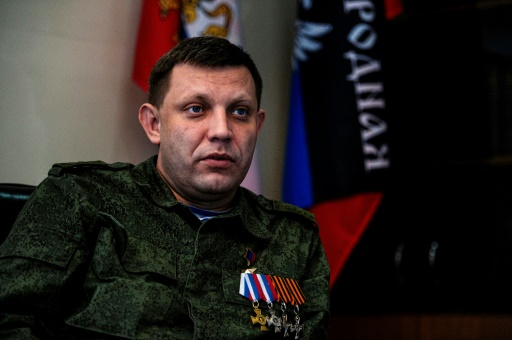 Ukraine: le dirigeant séparatiste Zakhartchenko tué dans une explosion