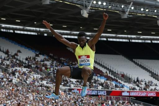 Athlétisme: Lawson, contrôlé positif à un stéroïde, met en cause la viande