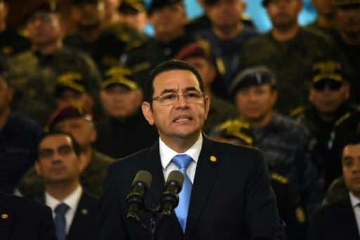 Guatemala : le président Morales interrompt une mission anticorruption de l'ONU