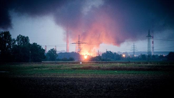 Allemagne: huit blessés dans l'explosion d'une raffinerie (photos)