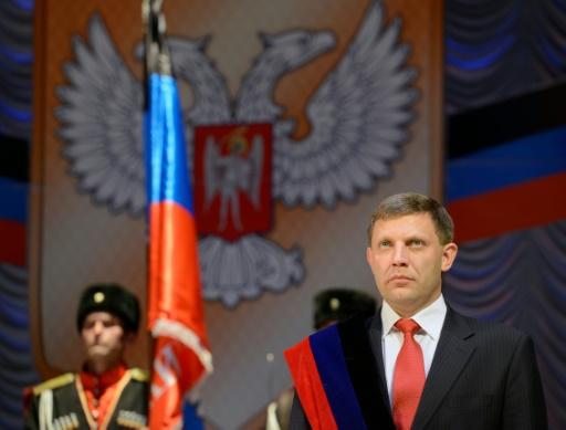L'est de l'Ukraine en deuil après la mort d'un dirigeant séparatiste