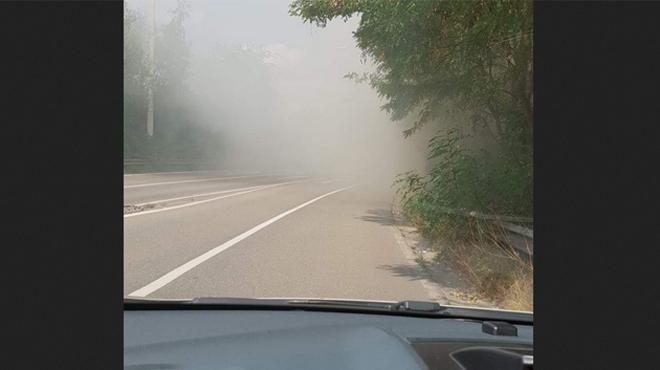 Important incendie sur le site d'Intradel à Herstal