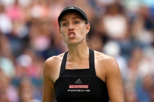 US Open: Après Halep et Wozniacki, au tour de Kerber de prendre la porte