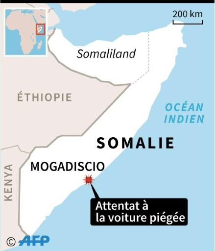 Au moins 3 morts dans un attentat à la voiture piégée à Mogadiscio
