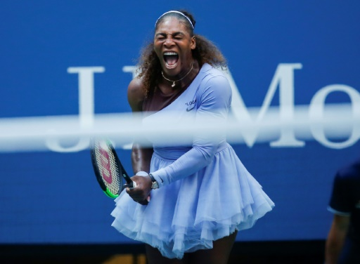 US Open: Serena Williams en quarts de finale en perdant un set