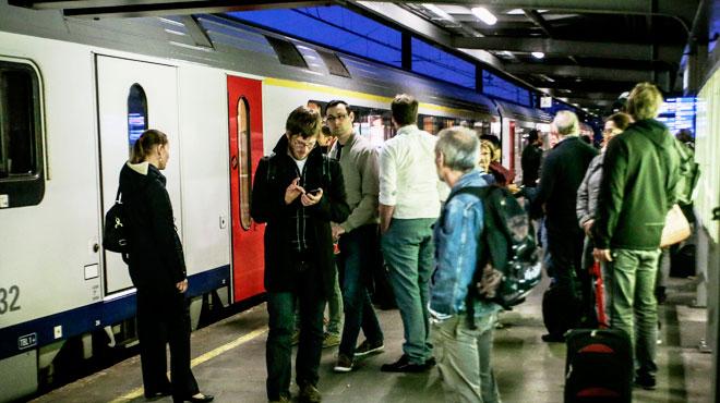 Rentrée galère sur la ligne Namur-Bruxelles après un vol de câble: la circulation est rétablie
