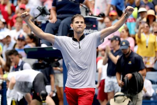 US Open: Thiem espère être
