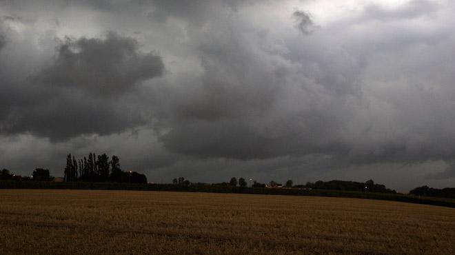 Prévisions météo: des orages annoncés mercredi dans la région de Liège