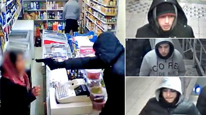 Ils braquent un commerce bruxellois et mettent une arme sur la tempe de l'employée: les reconnaissez-vous? (vidéo)