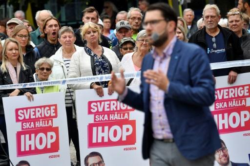 Suède: l'extrême droite, la