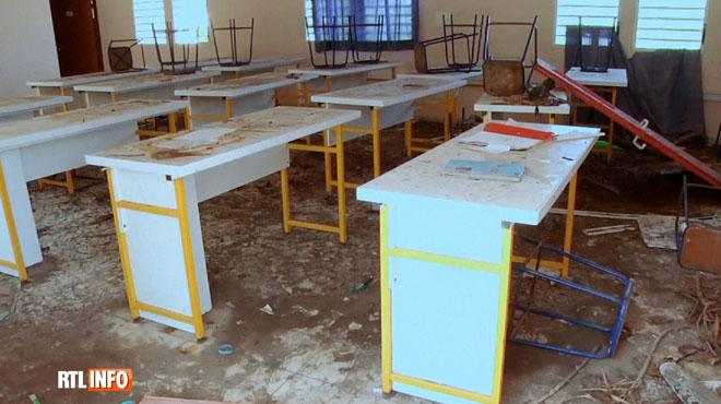 Un an après le passage de l'ouragan Irma, la rentrée des classes sur l'île de Saint-Martin a été compliquée
