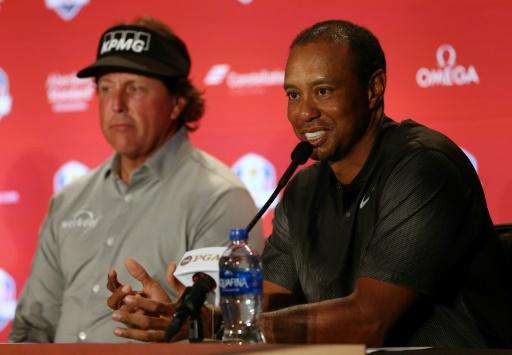 Ryder Cup: après six années d'absence, Woods fait son retour