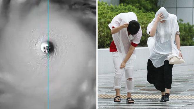 Jebi, le plus violent typhon en 25 ans, a balayé le Japon: voici le