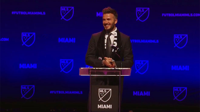 MLS: l'équipe de Miami dévoile son nom