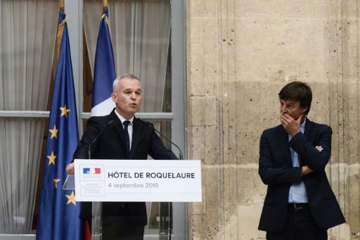 Énergie: le gouvernement présentera sa feuille de route fin octobre, selon Rugy