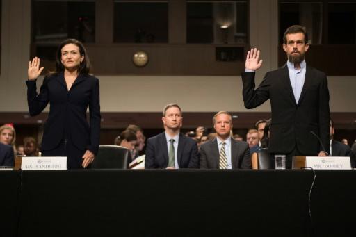 Twitter et Facebook, accusés de partialité, dans le collimateur de la justice américaine