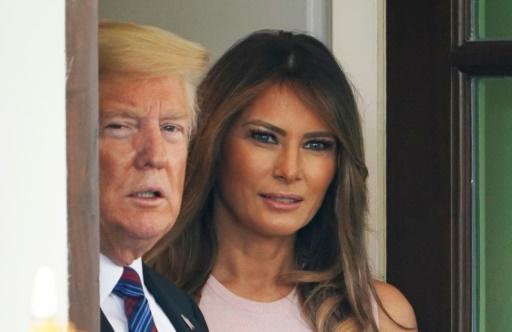 Tribune anonyme: Melania Trump soutient son mari