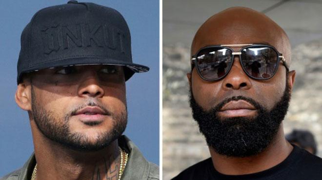 Rixe entre les rappeurs Booba et Kaaris à l'aéroport d'Orly: les deux rivaux