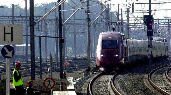 Trafic ferroviaire perturbé après un vol de câbles aux abords de la gare de Ans