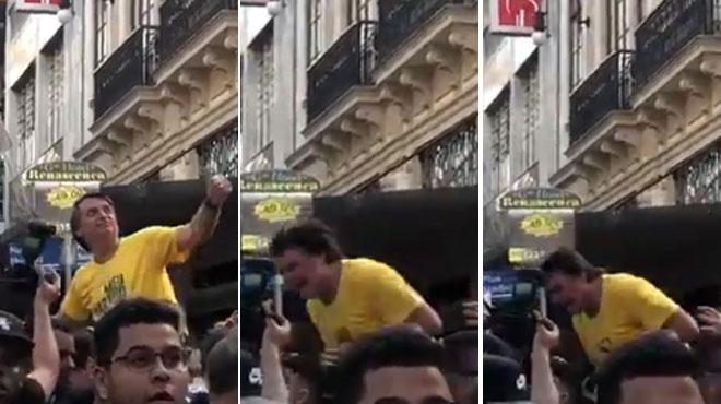 Tentative d'assassinat du candidat d'extrême droite au Brésil: il a été poignardé lors d'un bain de foule
