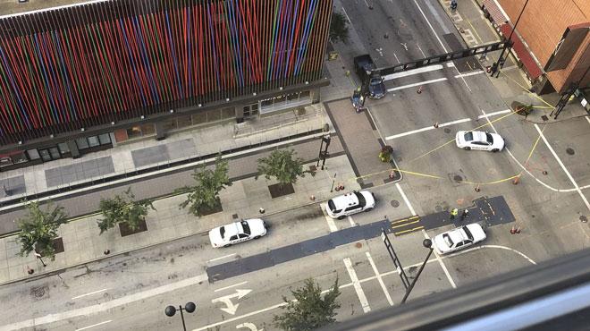 Fusillade dans le quartier des affaires à Cincinnati: