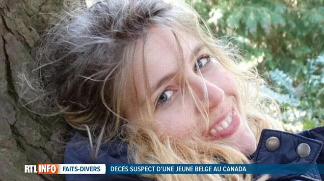 L'enquête se poursuit pour savoir ce qu'il est arrivé à Amélie, une jeune Tournaisienne retrouvée morte près de Vancouver