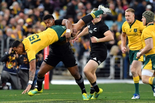 Rugby Championship: l'Australien Folau finalement forfait contre l'Afrique du Sud