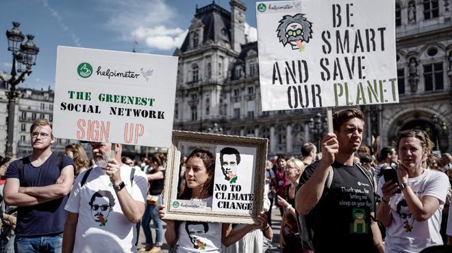 Journée d'actions mondiale pour le climat: