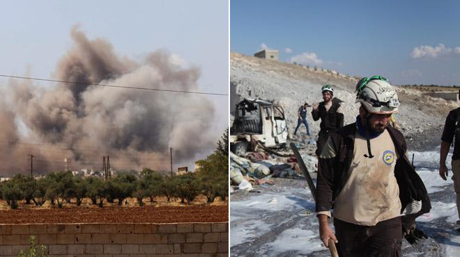 Le pilonnage d'Idleb a commencé: nouvelle catastrophe humanitaire en vue