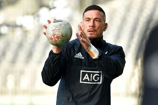 Rugby Championship: le Néo-Zélandais Sonny Bill Williams pourrait faire son retour contre les Springboks