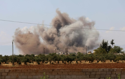 Syrie: reprise des bombardements syriens et russes contre Idleb
