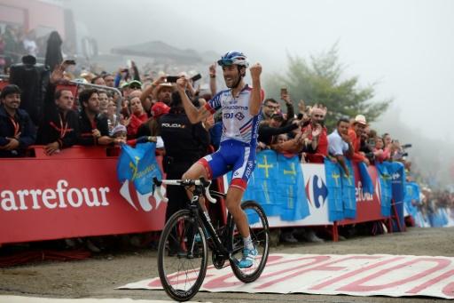 Tour d'Espagne: le Français Thibaut Pinot remporte la 15e étape, Yates toujours leader