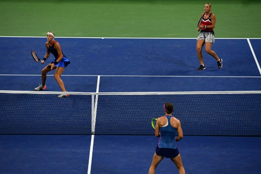 US Open: Mladenovic s'incline en finale du double dames, après trois balles de match