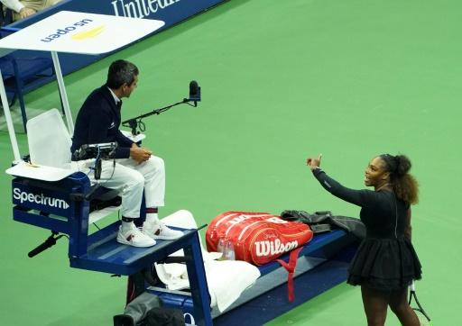 US Open: Serena Williams à l'amende, le règlement appliqué au pied de la lettre
